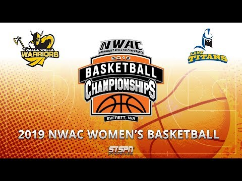 2019 NWAC Women's Basketball Game 5 - Walla Walla vs Lane
