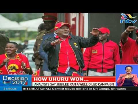 How Uhuru Kenyatta won his second term as President of Kenya
