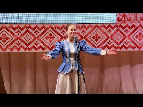 """Юлия Орёл  -  """"Эх, выйду я в поле"""", """"Ой-ты, степень моя, Оренбургская""""."""