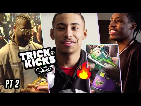 Julian Newman Gets 1 OF A KIND Custom Shoes From Sierato! Customization MOVIE W/ Dwyane Wade & More