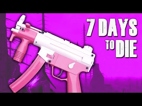 SEXY SMG ★ 7 Days to Die (18) - Zombie Games
