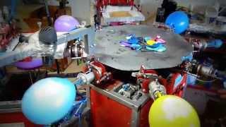 Печать на шарах(Оборудование для нанесения изображения на воздушные шары. Печать на шарах. Станок для печати на шарах. Кару..., 2015-01-25T12:24:01.000Z)