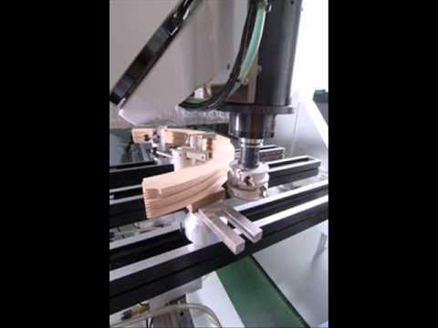 Wszystkie nowe maka pe 75 stopnie, produkcja schodów, obróbka drewna, CNC - YouTube PP42