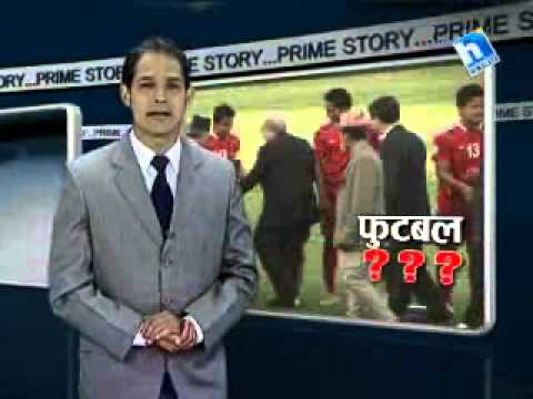 Prime Story - Nepali Football Team coach, Graham Roberts