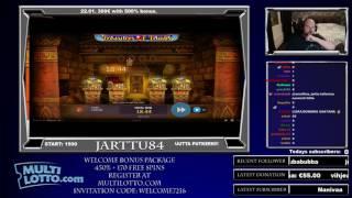 видео В игровой автомат Treasures Of Tombs играть онлайн в казино