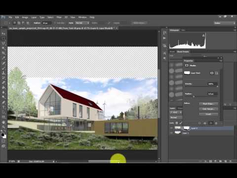 Architectural Post Production in Photoshop