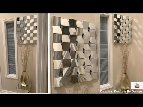 Modern Glam DIY || 💕EntryWay Wall Mirror || High End Looks for Less💕