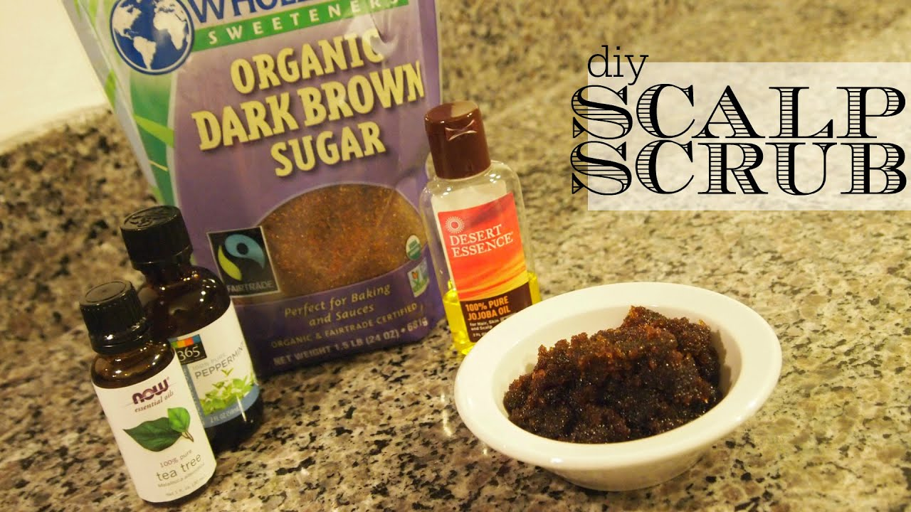 Scrub for the scalp at home 52