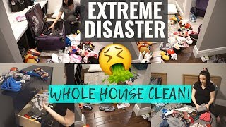 *COMPLETE DISASTER* SPEED CLEAN | CLEANING, DECLUTTERING, & ORGANIZING | ULTIMATE CLEAN WITH ME