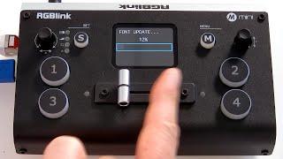 Firmwareupdate RGBlink mini und mini+