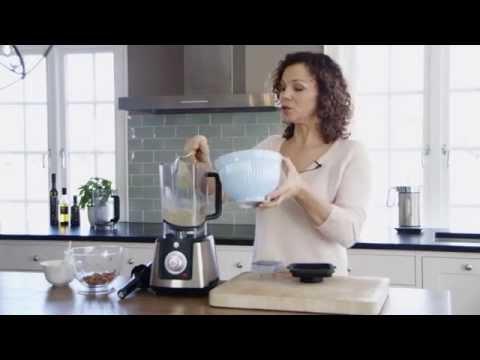 Kari Jaquesson - hvordan lage mandelmelk