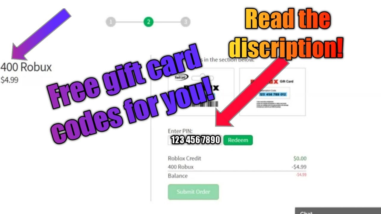 Code To Get Robux From Gift Card I Give You Guys Free Robux Gift Card Codes On This Video Read The Discription Youtube