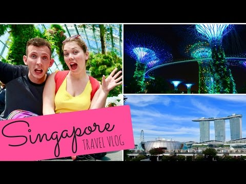 Singapore 2017 | TRAVELLING VLOG - MARINA BAY, UNIVERSAL STUDIOS, SUPERTREE GROVE & CLOUD FOREST