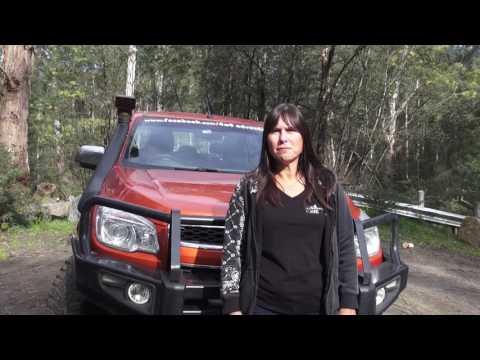 4x4 Adventure Club - Kate Moffatt 2014 Holden Colorado