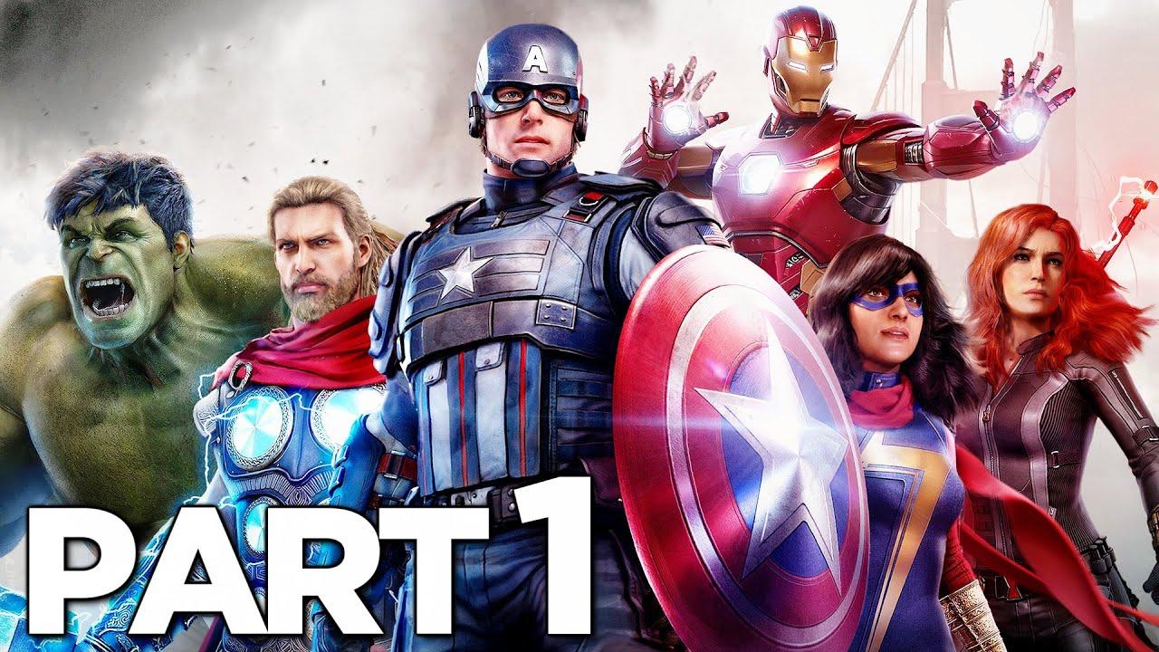 Download MARVEL'S AVENGERS Walkthrough Gameplay Part 1 - INTRO (2020 GAME)