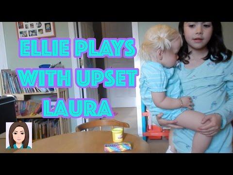 Ellie Plays With Upset Reborn Toddler Laura