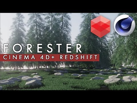 Forester Cinema 4D & Redshift - YouTube
