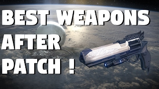 Destiny: BEST WEAPONS TO USE IN PVP AFTER PATCH 2.5.0.2