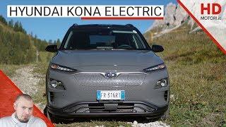 Hyundai Kona Electric: anteprima e prova su strada | SUV elettrico da 480 km