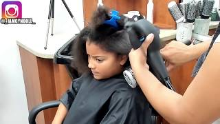DETAILED HOW TO DO A SILK PRESS ON THICK NATURAL HAIR!