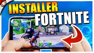 🔴COMMENT JOUER A FORTNITE SUR SMARTPHONE ANDROID