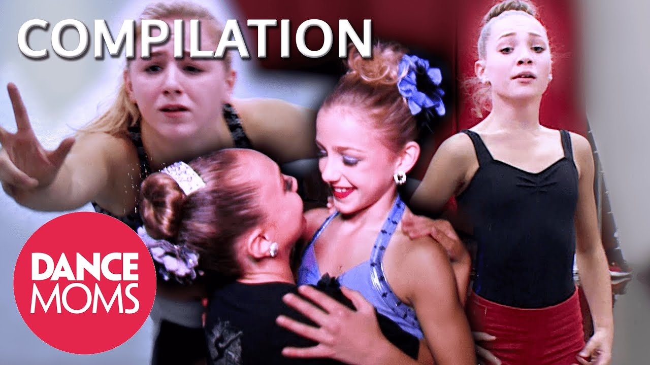 Maddie and Chloe Are UNPREDICTABLE at Nationals! (Flashback Compilation)   Dance Moms