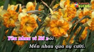 Can Nha Mau Tim Tan Co Karaoke Song Ca Voi Manh Quynh