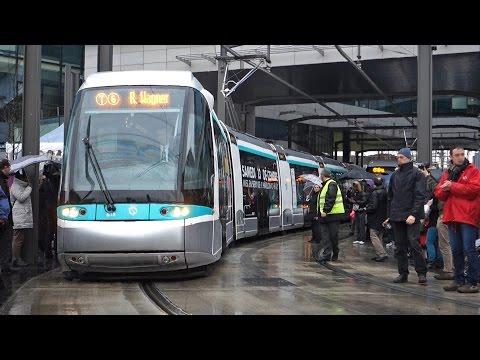 Tramway de paris ligne t6 prolongement viroflay doovi - Metro gare de lyon porte de versailles ...
