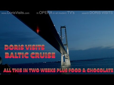 P&O Arcadia. Doris Visits with a Baltic Cruise Overview 2016