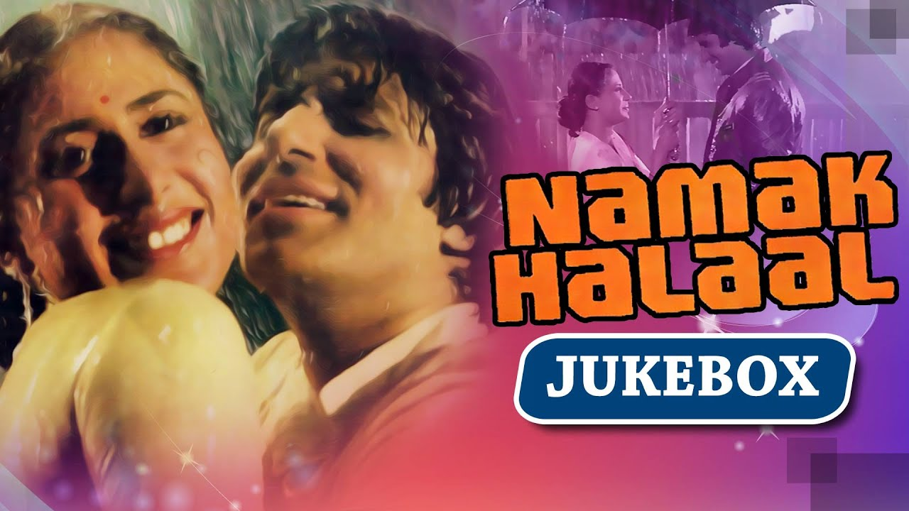 all songs of namak halaal hd amitabh bachchan shashi