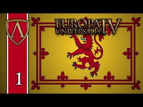 Let's Play Europa Universalis IV -- Rule Britannia -- Scotland -- Part 1