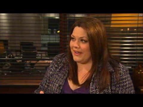 On the set: 'Drop Dead Diva's' Brooke Elliott