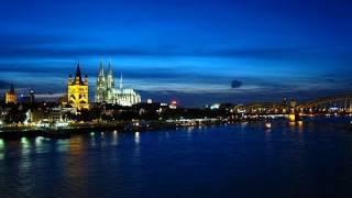 ケルン大聖堂~ライン川 Kölner Dom Rhein Köln Deutschland