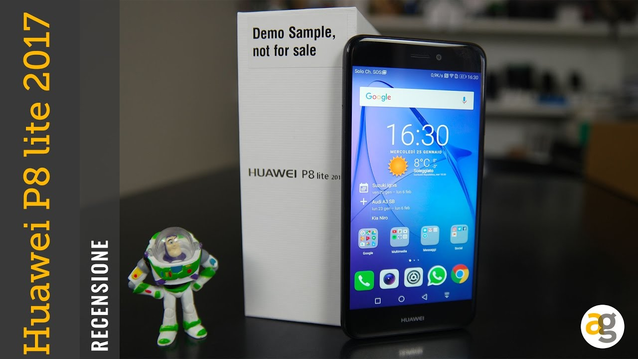 Recensione Huawei P8 Lite 2017 Youtube