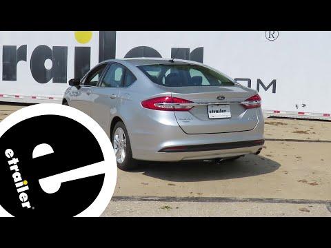 etrailer   Trailer Hitch Installation - 2018 Ford Fusion - Draw-Tite