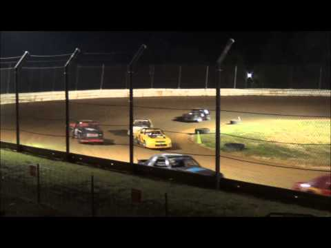 Doe Run Raceway Mini Stock Feature 7-24-15