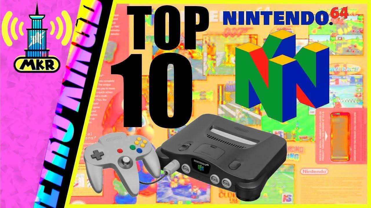 The TOP 10 Best Nintendo 64 Games EVER!