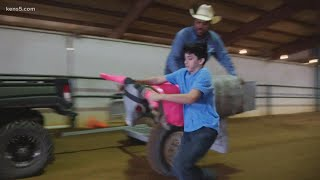 Young cowboys and cowgirls learn the ropes at Junior PRCA Youth Rodeo Camp