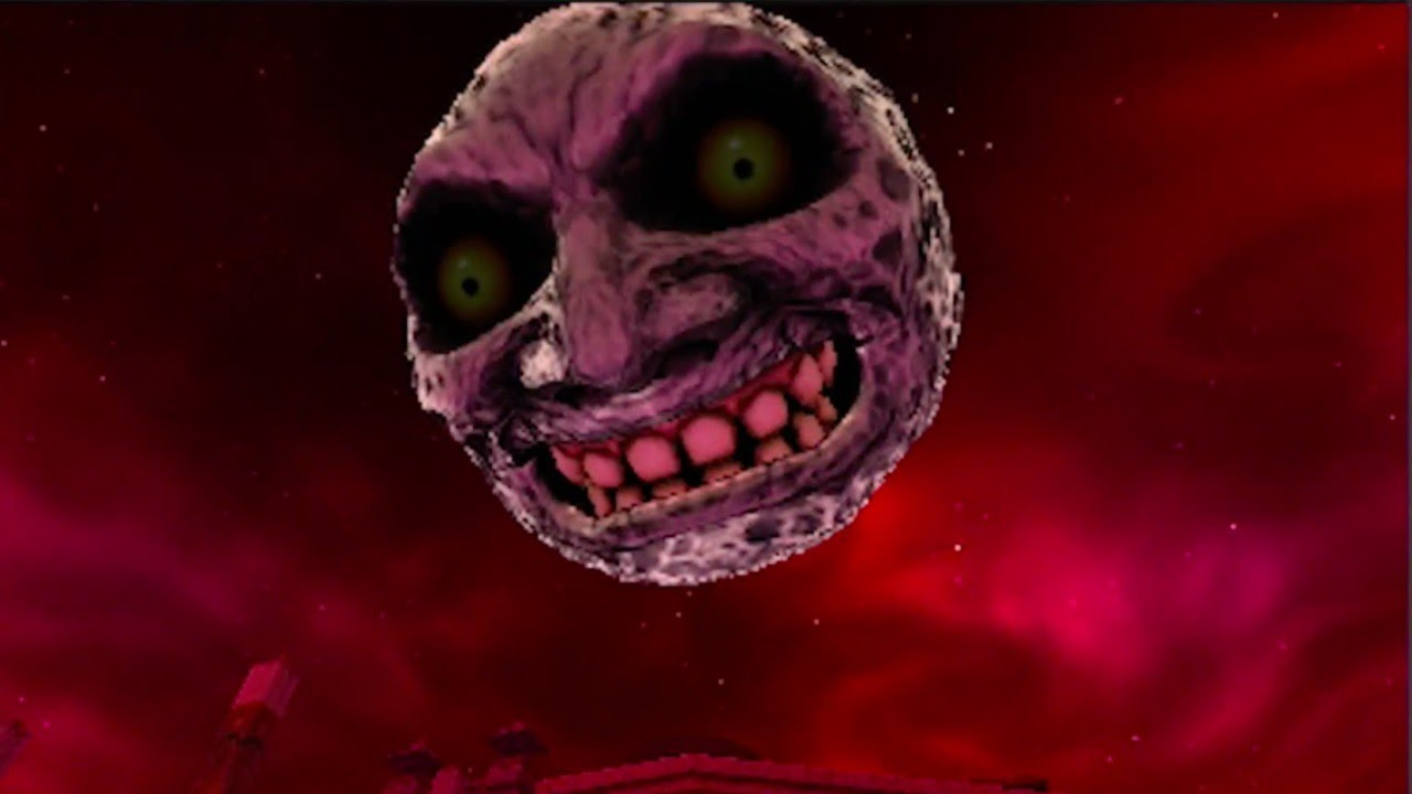 Majoras Mask Moon Giants The Legend of Z...