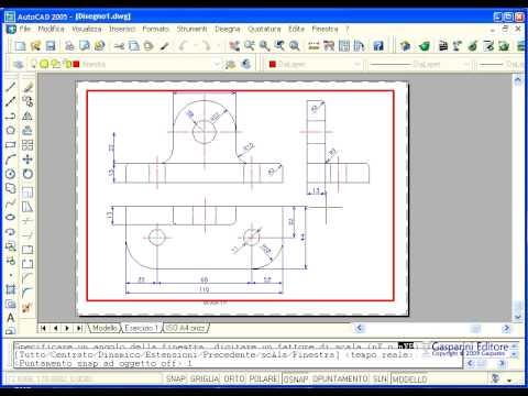 Corso di AutoCAD Base - ECDL CAD. Come definire un layout di disegno from YouTube · Duration:  4 minutes 5 seconds