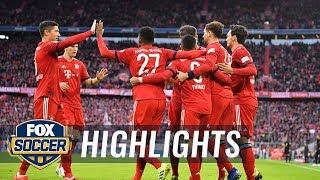 Bayern Munich vs. VfB Stuttgart | 2019 Bundesliga Highlights