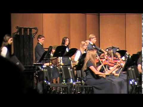 Afterburn For String Orchestra and Percussion  Randall D Standbridge, Edited  J Cameron Law