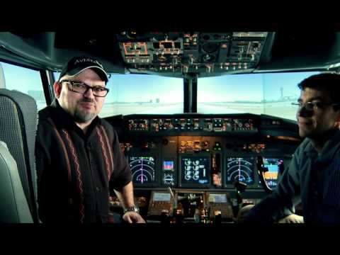 Private pilot landing airliner with an engine out (FREEview 204)