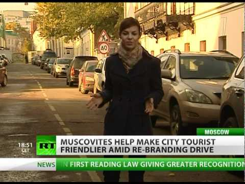 Locals keen to make Moscow tourist friendlier