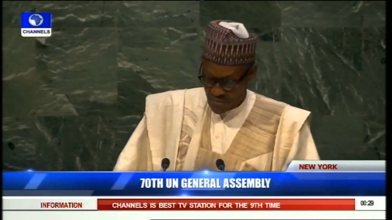 Download 70th UN General Assembly: President Muhammadu Buhari's Address (PT3) 29/09/15