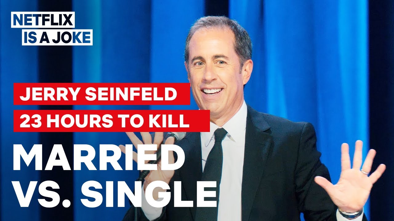 Jerry Seinfeld Compares Married Men To Game Show Losers Netflix Is A Joke Youtube