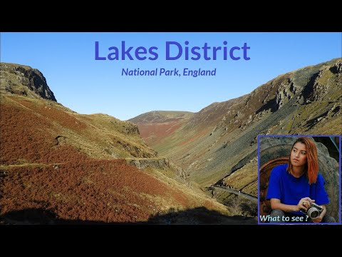 WHAT TO SEE in the Lake District, National Park, England