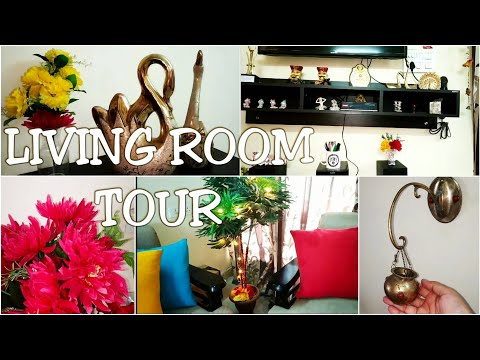 Living Room Tour | Indian Home Tour 2019 | Living Room Decor Ideas in Budget | Indian Youtuber Simmz
