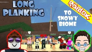 Roblox - Lumber Tycoon 2 - Long Planking to Winter Biome with discord peeps
