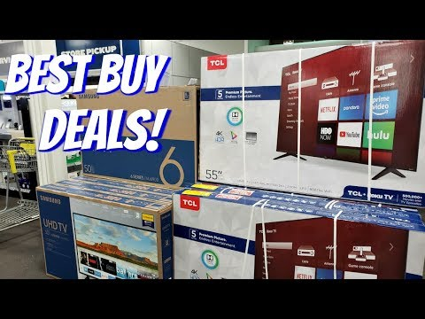 BEST BUY CHRISTMAS DEALS 4K TV'S TOYS WALK THROUGH 2018